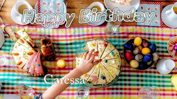 Happy Birthday Cake for Caressa