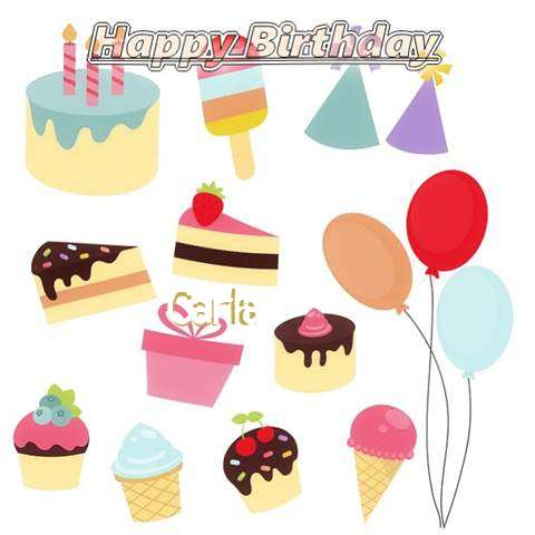 Happy Birthday Wishes for Carla