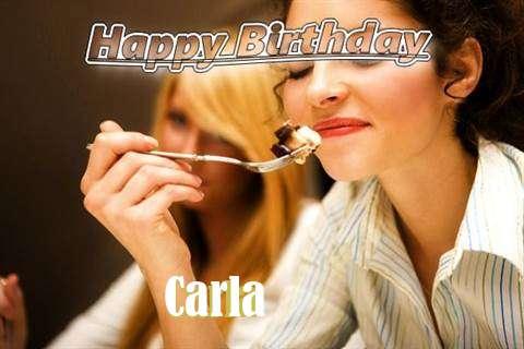 Happy Birthday to You Carla