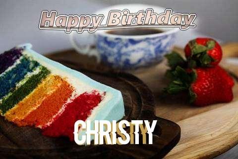 Happy Birthday Christy