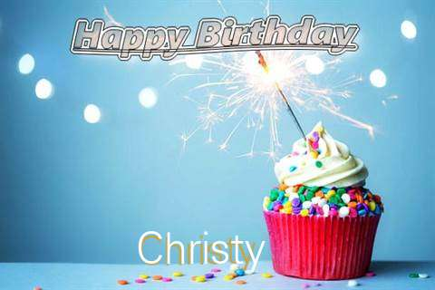 Happy Birthday Wishes for Christy