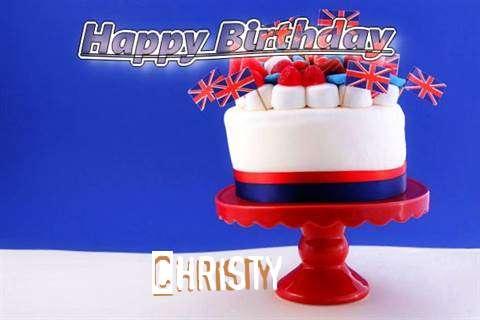 Happy Birthday to You Christy