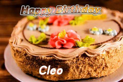 Happy Birthday Cleo