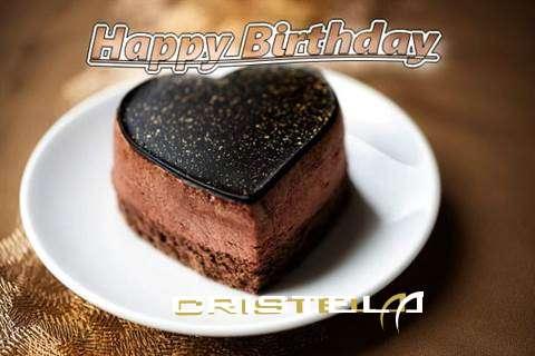 Happy Birthday Cake for Cristela
