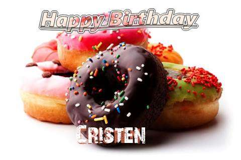 Birthday Wishes with Images of Cristen