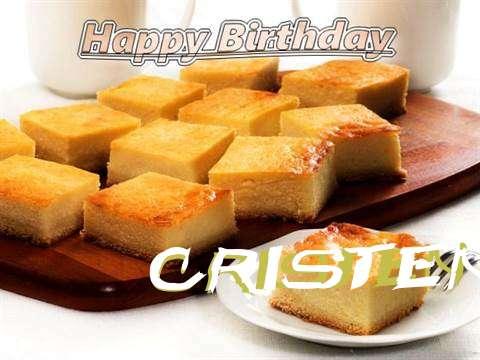 Happy Birthday to You Cristen