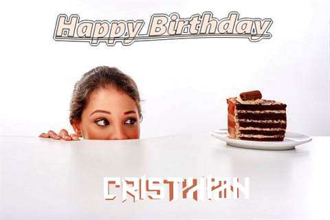 Birthday Wishes with Images of Cristhian