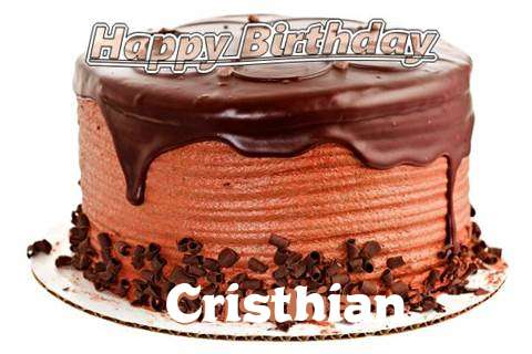 Happy Birthday Wishes for Cristhian