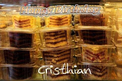 Happy Birthday to You Cristhian