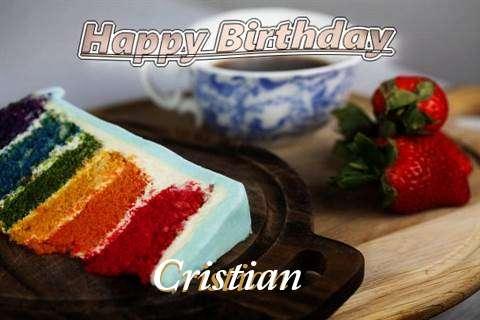 Happy Birthday Cristian