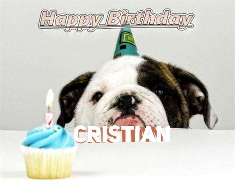 Birthday Wishes with Images of Cristian