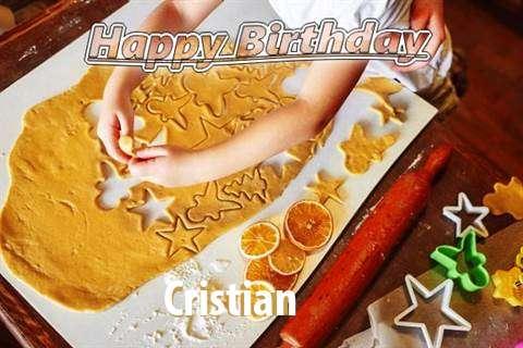 Cristian Birthday Celebration