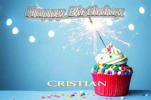 Happy Birthday Wishes for Cristian