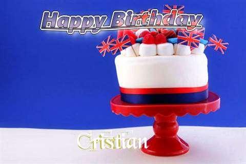 Happy Birthday to You Cristian