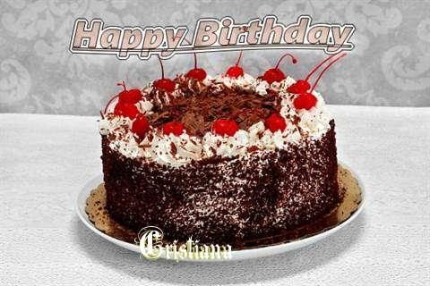 Happy Birthday Cristiana