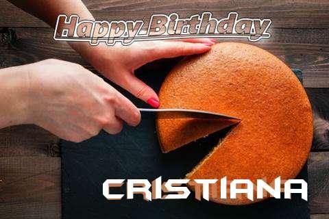 Happy Birthday to You Cristiana
