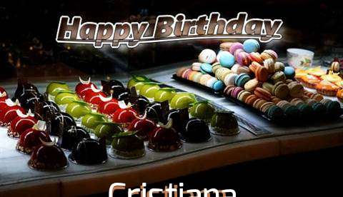 Happy Birthday Cake for Cristiana