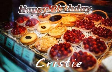 Happy Birthday Cake for Cristie