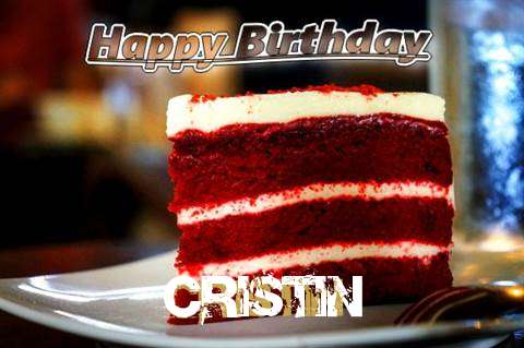 Happy Birthday Cristin