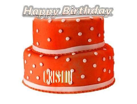 Happy Birthday Cake for Cristin