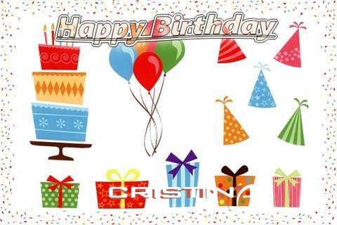 Happy Birthday Wishes for Cristina