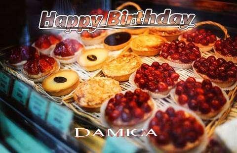 Happy Birthday Cake for Damica