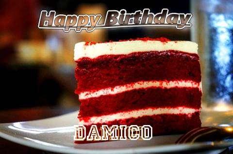 Happy Birthday Damico