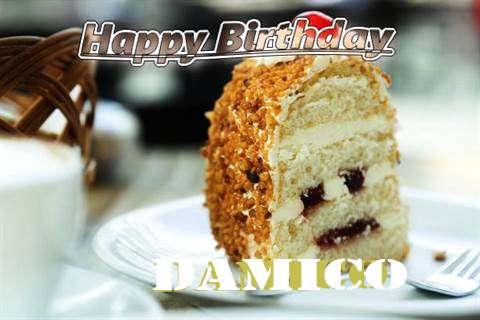 Happy Birthday Wishes for Damico