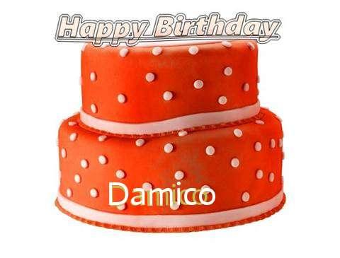 Happy Birthday Cake for Damico