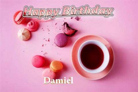 Happy Birthday to You Damiel