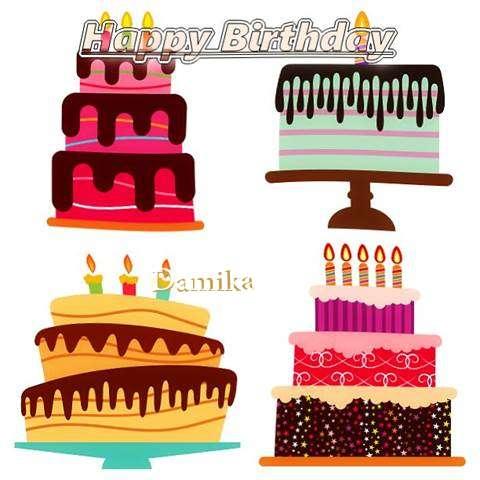 Happy Birthday Wishes for Damika