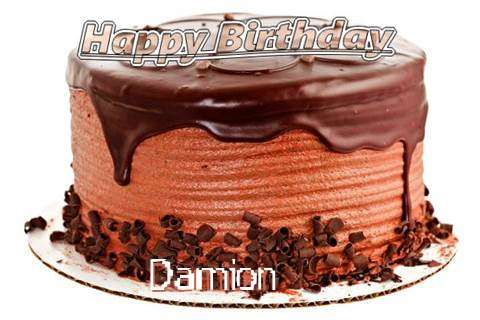 Happy Birthday Wishes for Damion