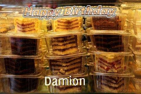 Happy Birthday to You Damion