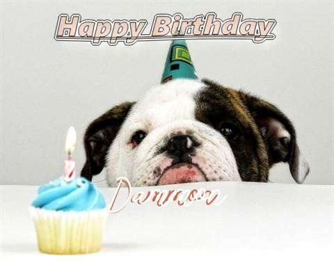 Birthday Wishes with Images of Dammon