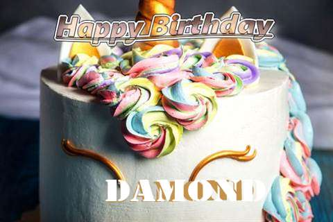Birthday Wishes with Images of Damond