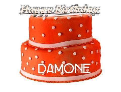 Happy Birthday Cake for Damone