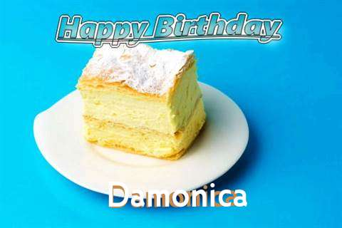 Happy Birthday Damonica Cake Image