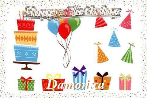 Happy Birthday Wishes for Damonica
