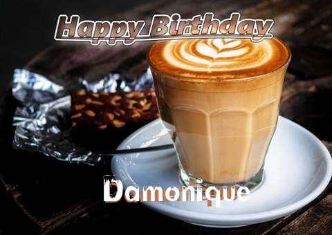 Happy Birthday Damonique Cake Image