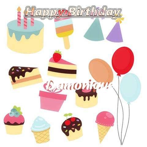 Happy Birthday Wishes for Damonique