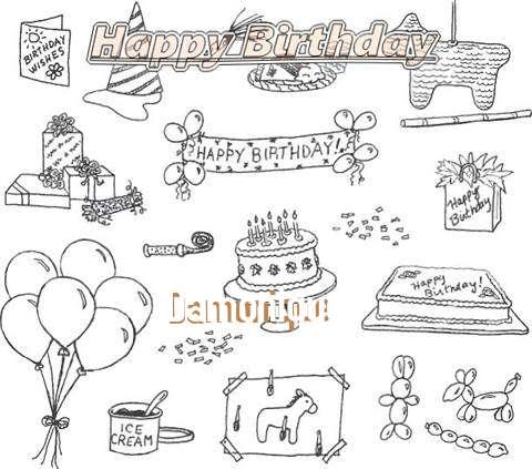 Happy Birthday Cake for Damonique