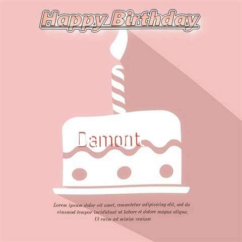 Happy Birthday Damont