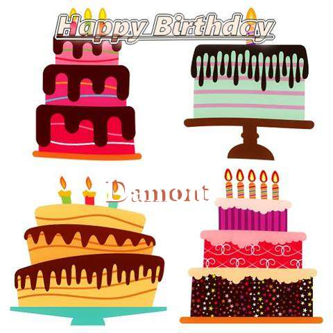 Happy Birthday Wishes for Damont