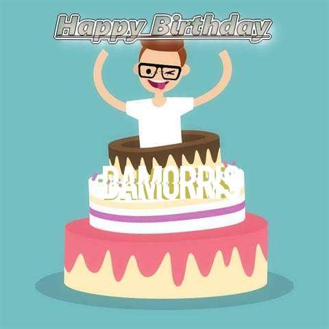 Happy Birthday Damorris