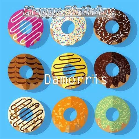 Happy Birthday Damorris Cake Image