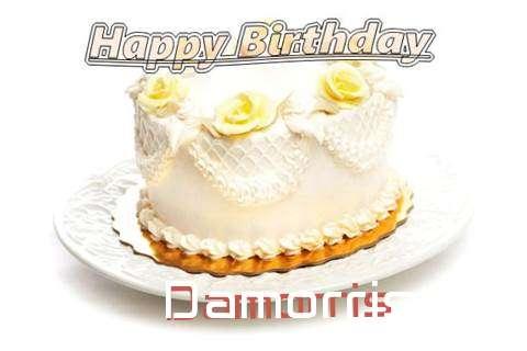 Happy Birthday Cake for Damorris