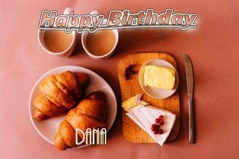 Happy Birthday Wishes for Dana