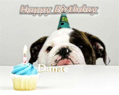 Birthday Wishes with Images of Danae