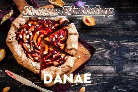 Happy Birthday Danae Cake Image