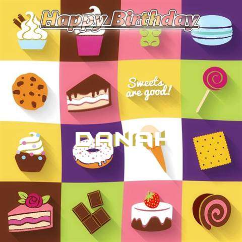 Happy Birthday Wishes for Danah
